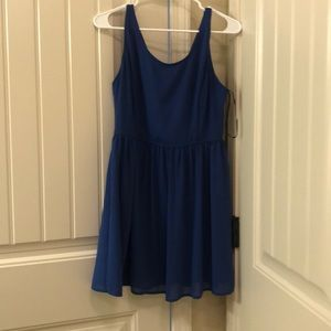 Forever 21 blue homecoming dress